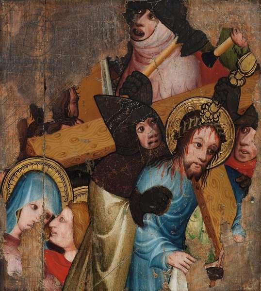 Christ bearing the Cross, c.1400-25 (tempera & gold leaf on panel)