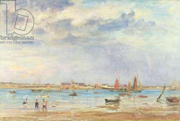 Summer Evening, 1912 (oil on canvas)