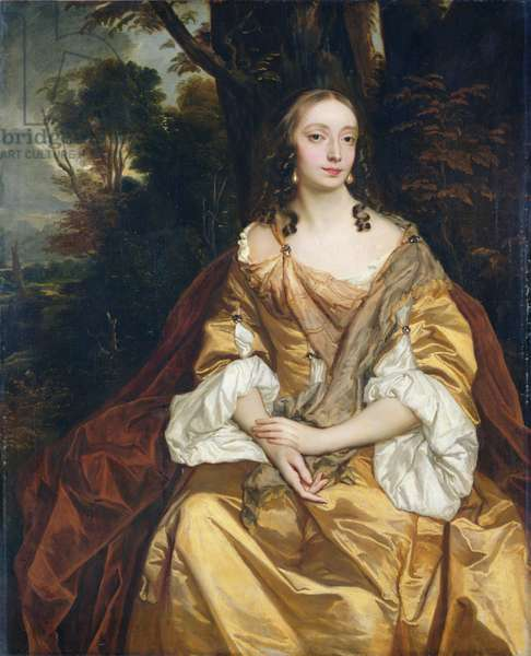 Portrait of a Lady, probably Mary Parsons, later Mrs Draper, c.1665 (oil on canvas)