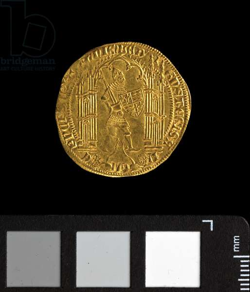 Noble d'or de Guyenne (pavillon), Edward 'the Black Prince' (1362-72) (gold) (obverse of 5944005)