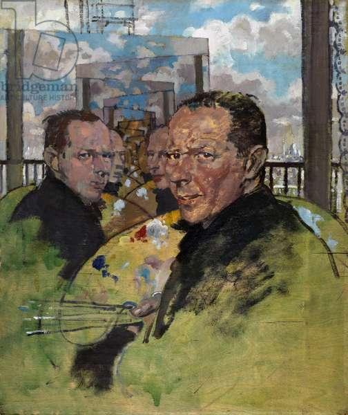 Self Portrait, c.1924 (oil on panel)