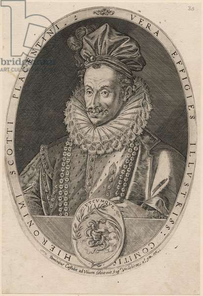 Jeronimo Scotto, before 1615 (engraving, black carbon ink on paper)