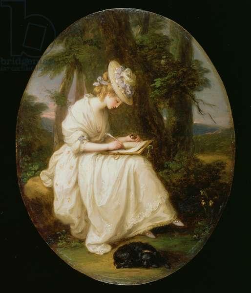 Louisa Hammond (oil on copper)