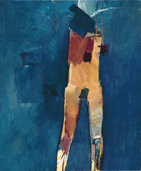 Standing Figure, 1960 (oil on canvas)