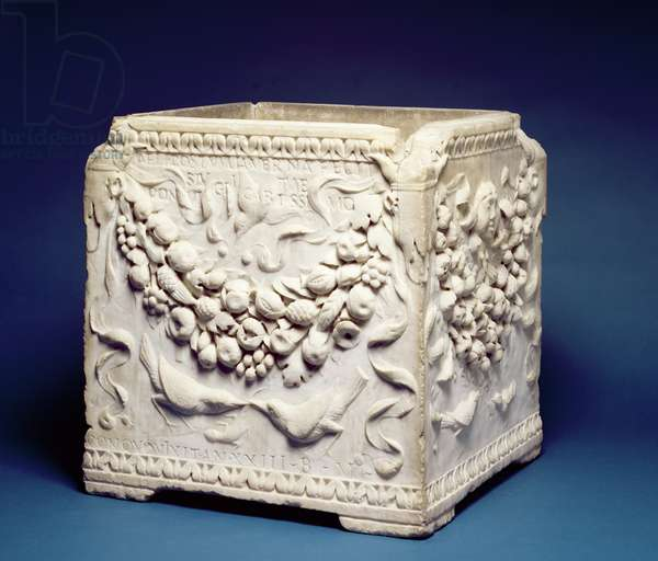 Cinerary Chest, c.25-50 AD (marble)
