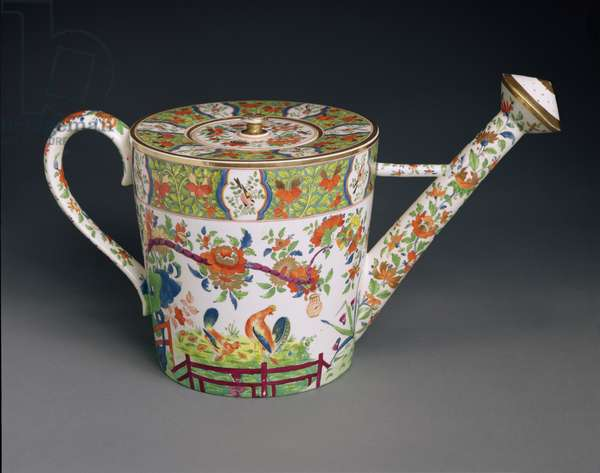 Watering can, c.1810-20 (porcelain)
