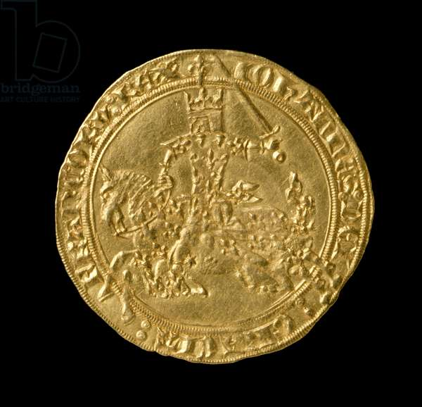 John II 'The Good' (1319-64) King of France, Franc a Cheval, 1350-64 (obverse) (gold) (for reverse see 168068)