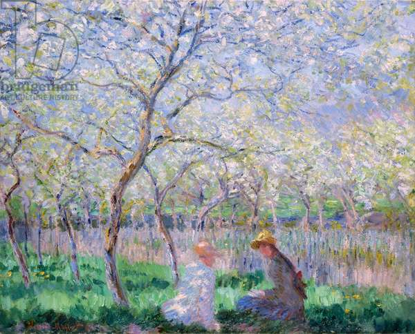 Springtime, 1886 (oil on canvas)