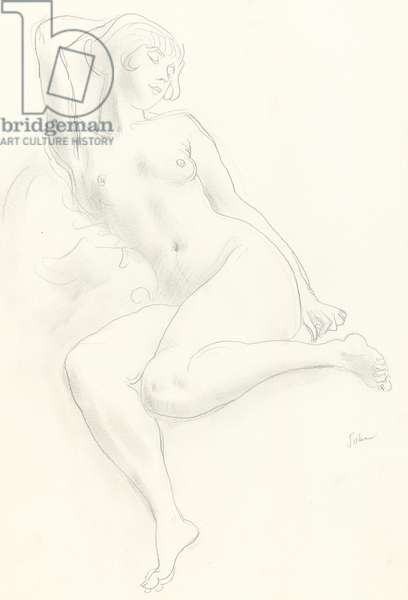 Nude study (graphite on paper)