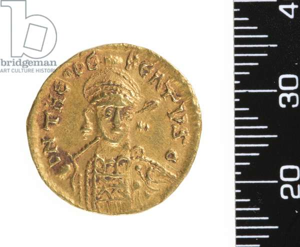 Coin (obverse) c.534-548 (gold)