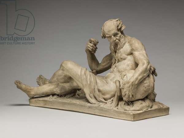River God, 1755 (terracotta)