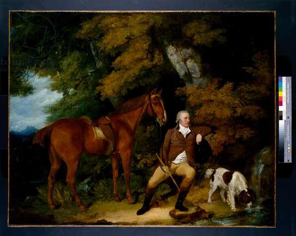 Benjamin Bond Hopkins, before 1791 (oil on canvas)