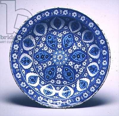 C.26-1950 Isnik dish, Turkish, c.1530-40 (earthenware)