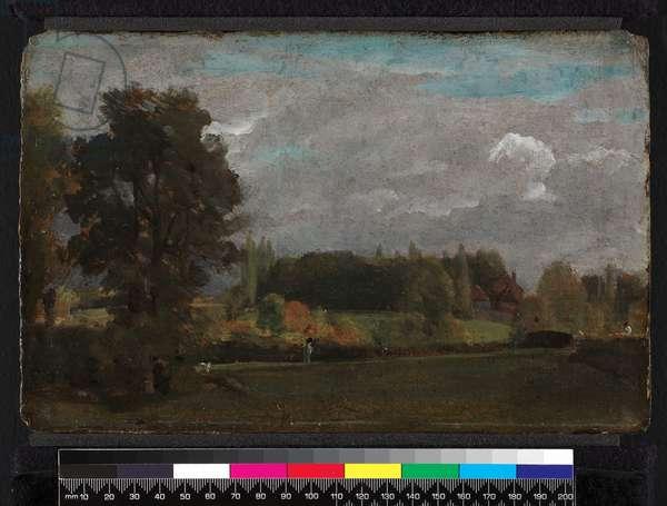 East Bergholt, 1808 (oil on millboard)