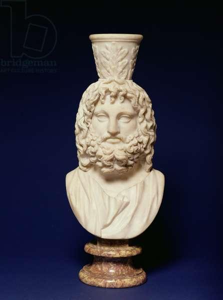 The Egyptian God Serapis, Greek, 2nd century (marble)