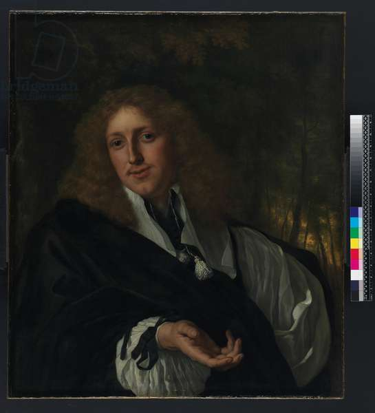 Portrait of a man, 1662 (oil on canvas)