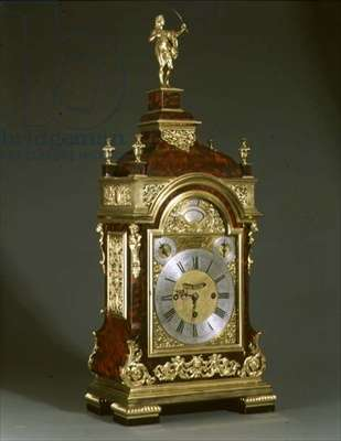 M.4-1965 Grande Sonneries 3-train repeating bracket clock with tortoiseshell case and gilt mounts made by Thomas Tompion (1639-1713), c.1700