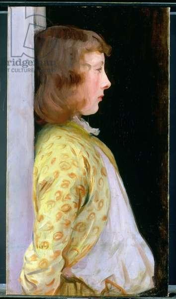 Portrait of Dorothy Barnard, 1889 (oil on canvas)