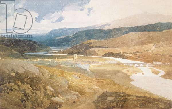 No.2303 Dolgelly, North Wales, 1804-05 (w/c on paper)