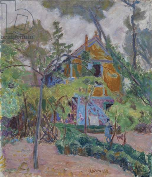 House among trees, 1918 (oil on canvas)