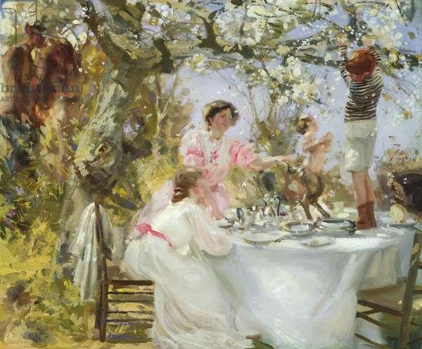 The Little Faun, c.1906 (oil on canvas)