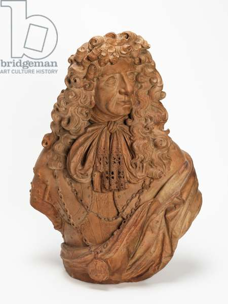 King Charles II, c.1678 (terracotta)