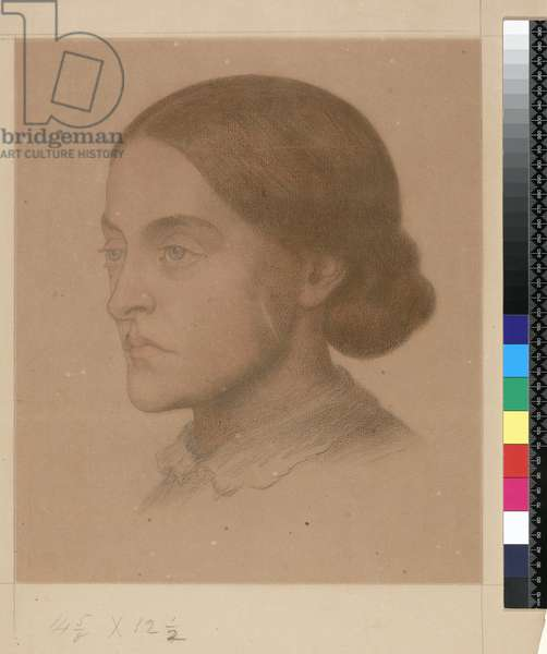 909 T.2268 Christina Rossetti (drawing)