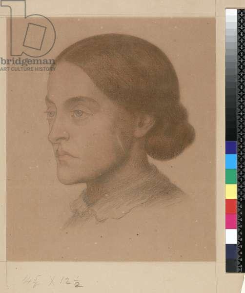 909 T.2268 Christina Rossetti (drawing)