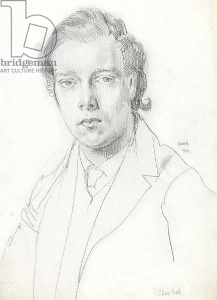 Clive Bell, 1909 (graphite on paper)