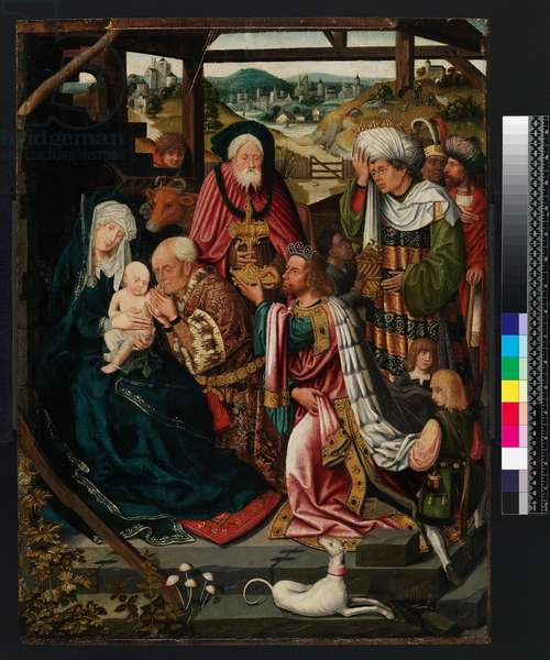 Adoration of the Kings, 1520 (oil on panel)
