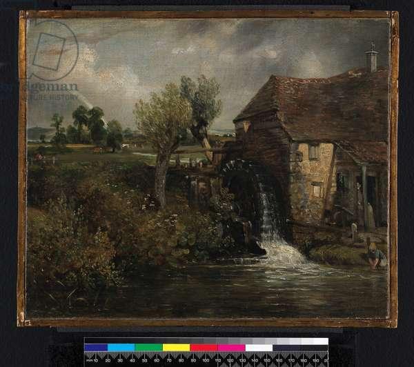 Parham's Mill, Gillingham, Dorset, 1824 (oil on canvas)