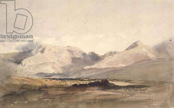 PD.135-1950 Mountain scene, Westmorland (w/c)