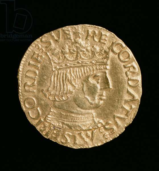 Kingdom of Naples Ducat with a Portrait of Ferdinand I of Aragon (1458-94), Naples Mint, c.1458-62 (gold)