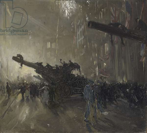 Armistice Night, 1918 (oil on canvas)