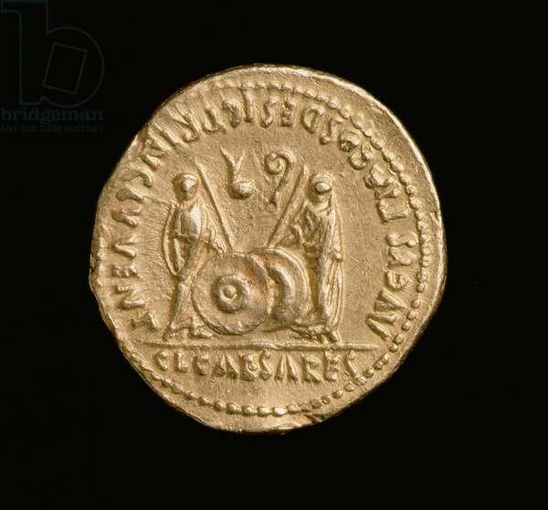 Aureus of Emperor Augustus (31 BC-14 AD) Roman Mint (reverse) (gold) (for obverse see 168069)