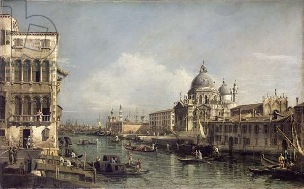 Entrance to the Grand Canal, Venice (oil on canvas)