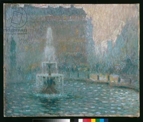 Trafalgar Square, c.1908 (pastel)