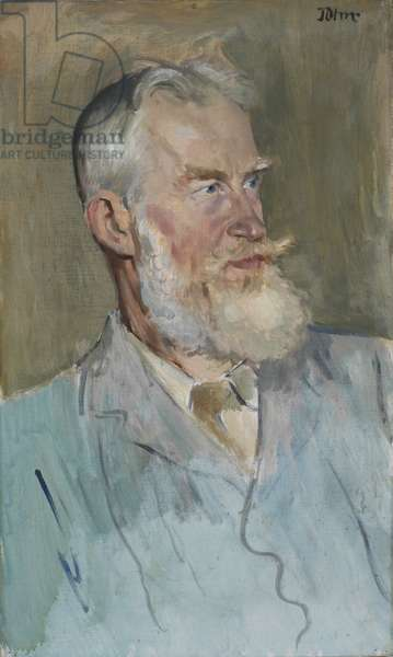 Portrait of George Bernard Shaw (1856-1950) 1915 (oil on canvas)