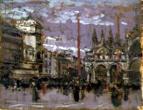 St Mark's, Venice, c.1901-02 (oil on panel)