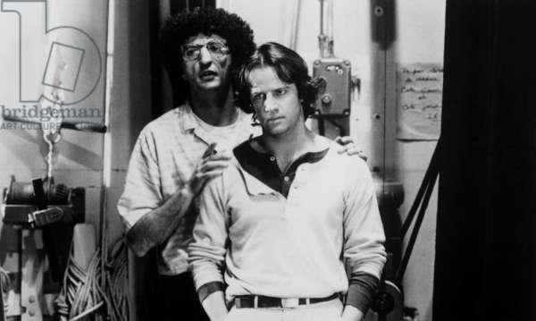 Love Songs, the director Elie Chouraqui and Christophe Lamberton, 1984