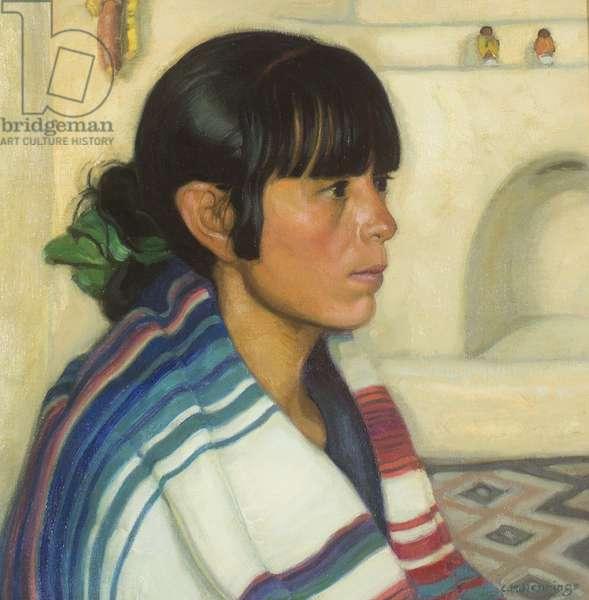 Juanita (oil on canvas)