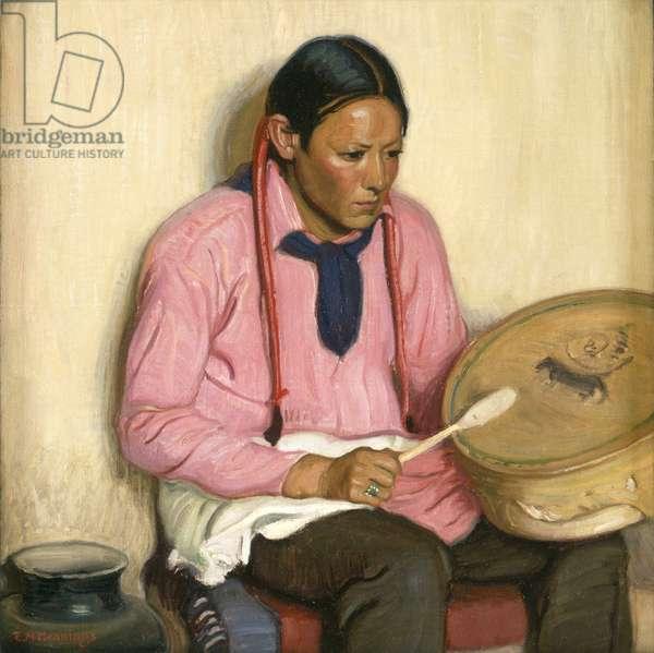 Drummer Boy, c.1925 (oil on canvas)