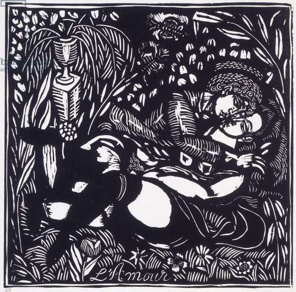 Love (L'Amour), 1910 (woodcut print)