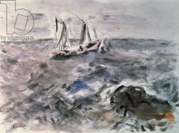 Sea Fantasy No. III, 1942 (w/c on paper)
