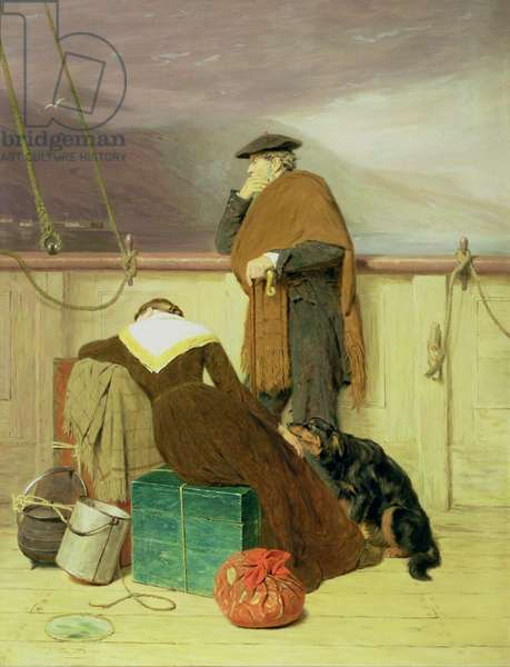 Lochaber No More, 1883 (oil on canvas)