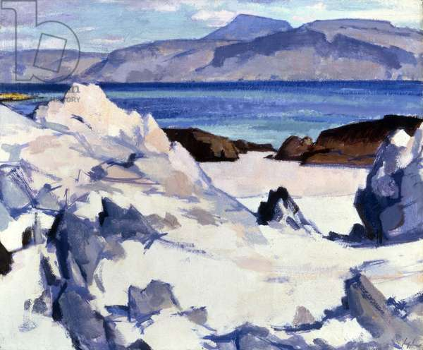 Green Sea, Iona, 1920s (oil on canvas)