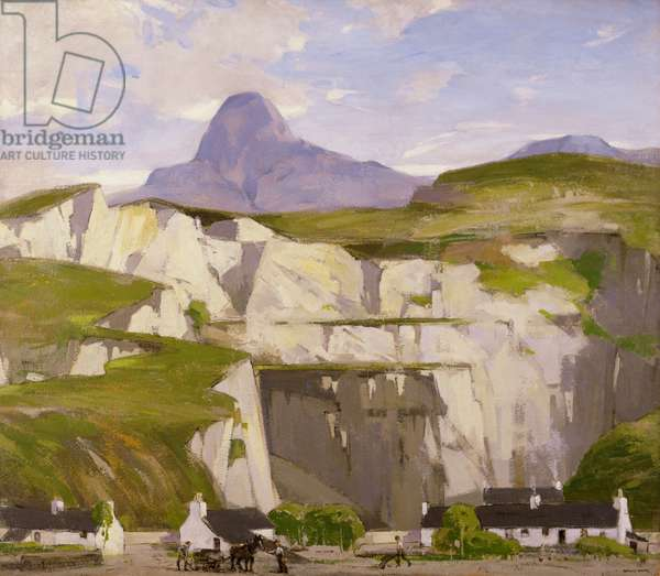 Ballachulish Quarries (oil on canvas)