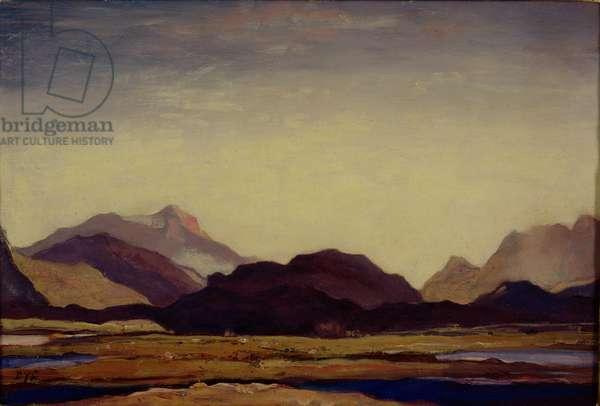 Hills of Ross, c.1934 (oil on panel)