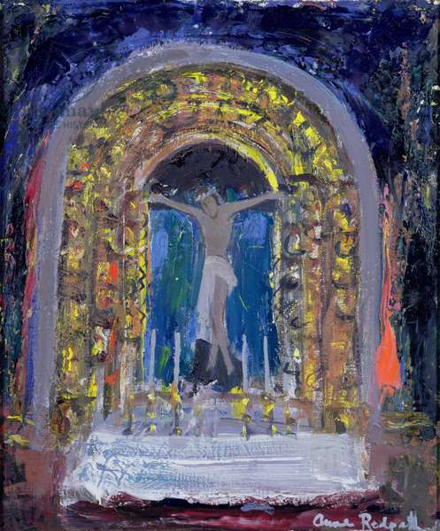 Little Sanctuary (oil on canvas)