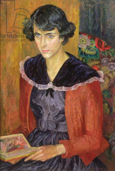 Elizabeth, 1951 (oil on board)